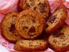 Galletas con Azúcar Moreno y Chocolate