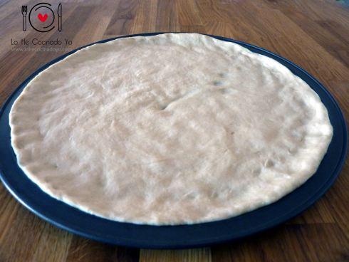 Masa de Pizza Esponjosa
