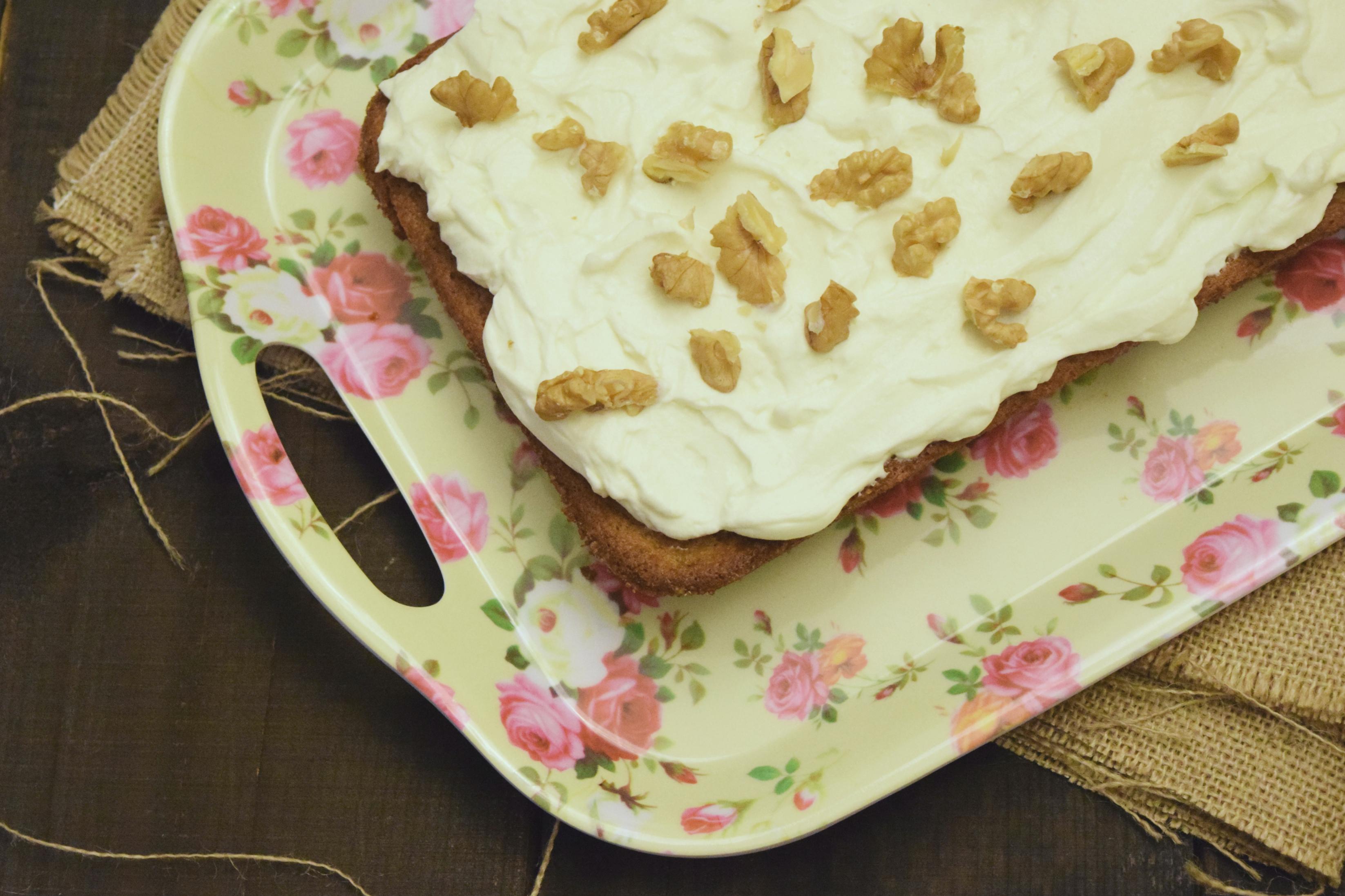 la bandeja de pasteles pwsa tres cuartos de kilo tiene
