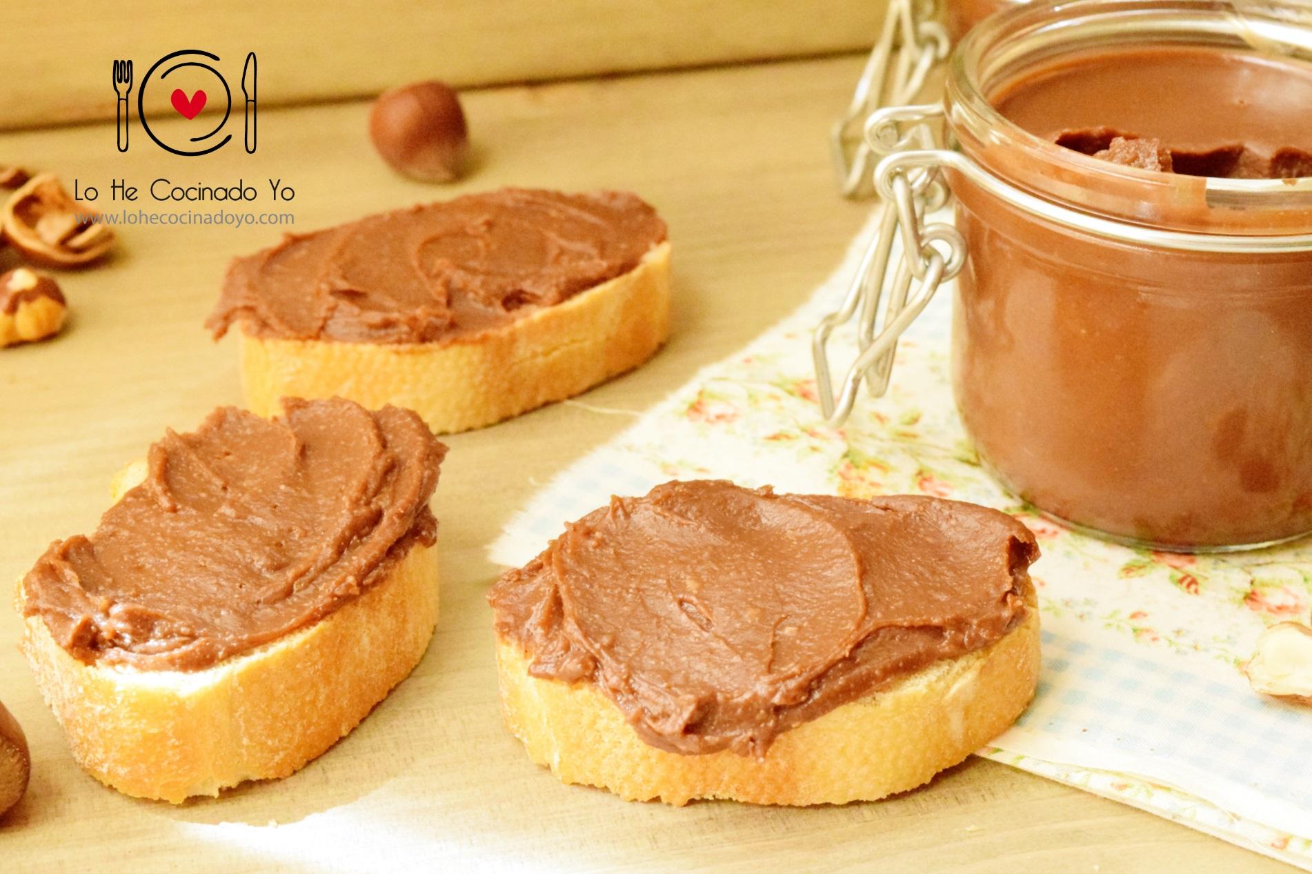 Cómo hacer Crema de Cacao con Avellanas