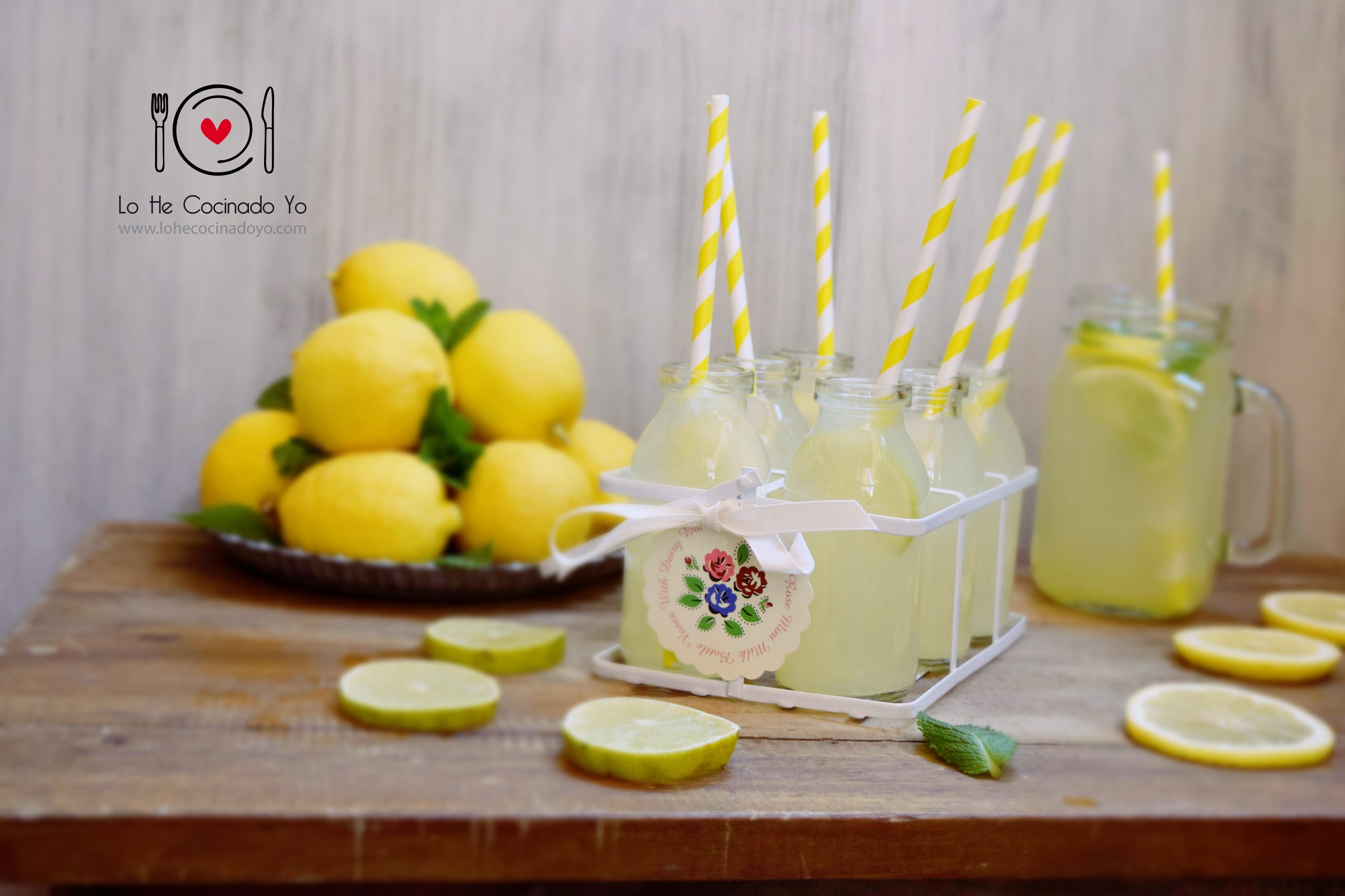 Cómo hacer Limonada Casera