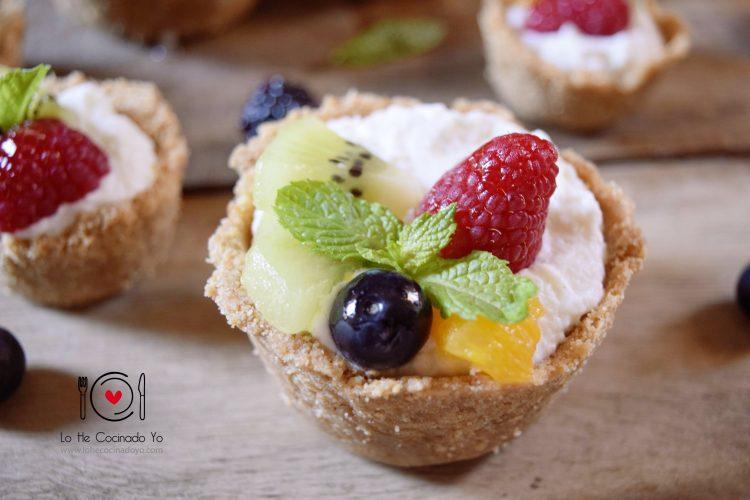 Tartaletas de Frutas (Receta sin Horno)