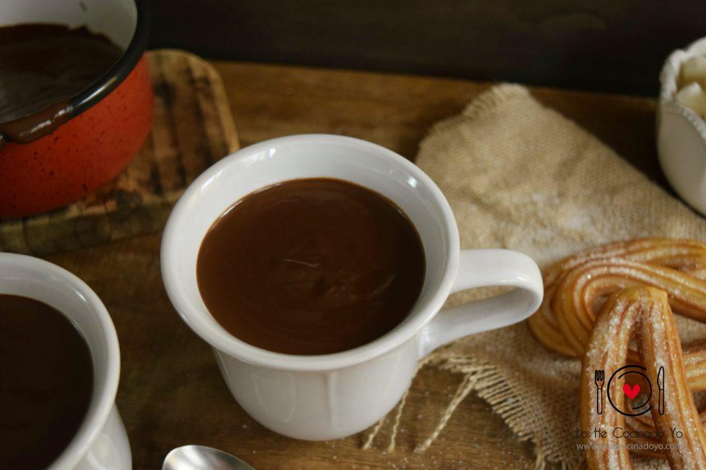 Chocolate para Churros