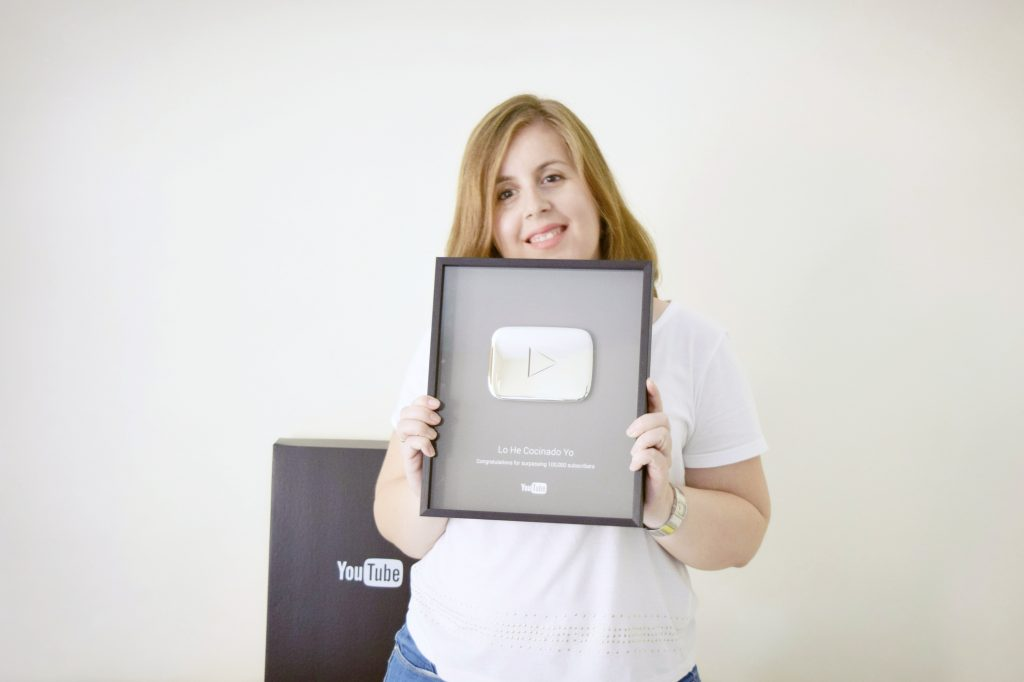 Botón de Plata de YouTube