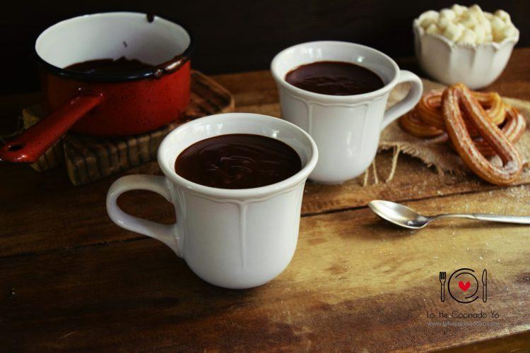 Chocolate para Churros o Chocolate a la Taza