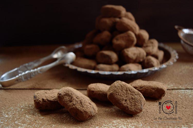 Cómo hacer Trufas de Chocolate y Vainilla