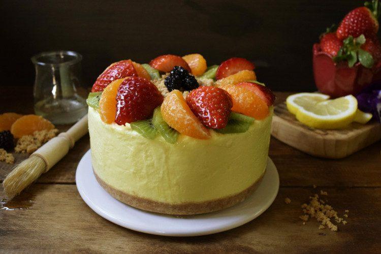 Receta de Tarta de Limón (Sin Horno)