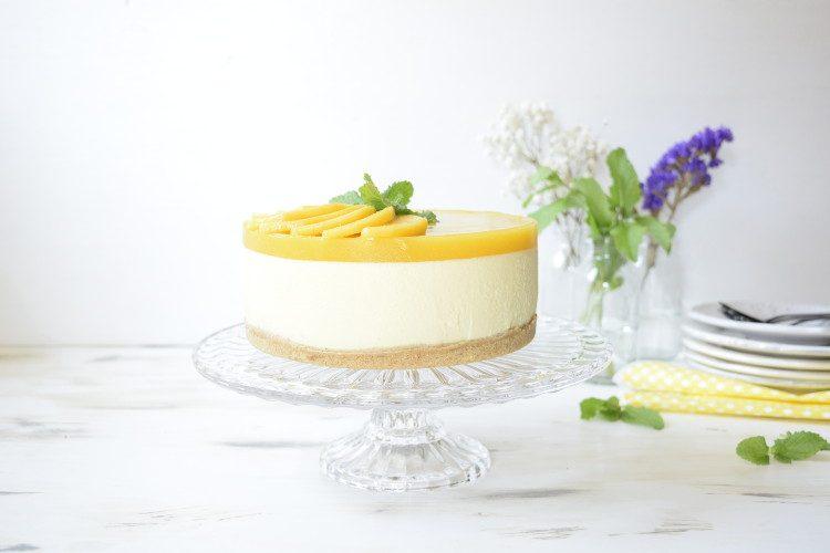 Cheesecake de Mango | Receta sin Horno