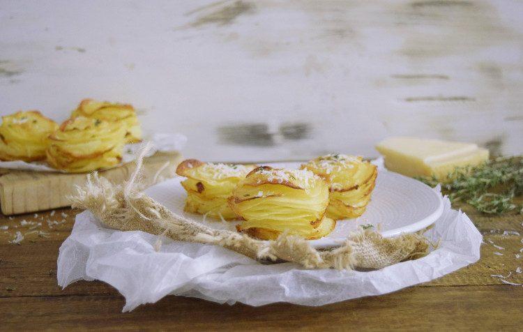 Patatas con Parmesano y Ajo